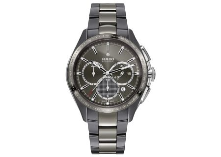 Rado XXL HyperChrome Plasma Ceramic Chronograph Mens Watch - R32024102