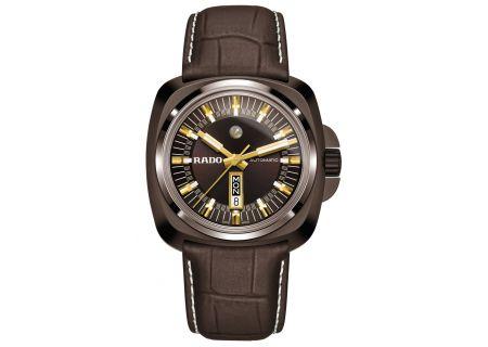 Rado HyperChrome Limited Edition Brown Leather Mens Watch  - R32170305