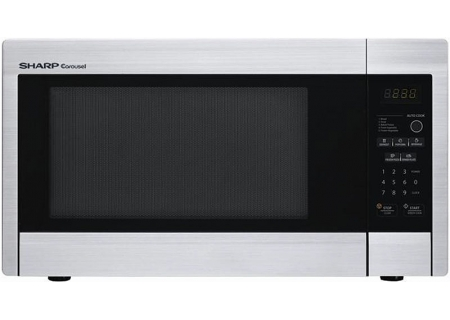 Sharp Stainless Steel Mid-Size Countertop Microwave - R331ZS