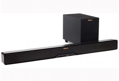 Klipsch Black Sound Bar With Wireless Subwoofer - R-4B