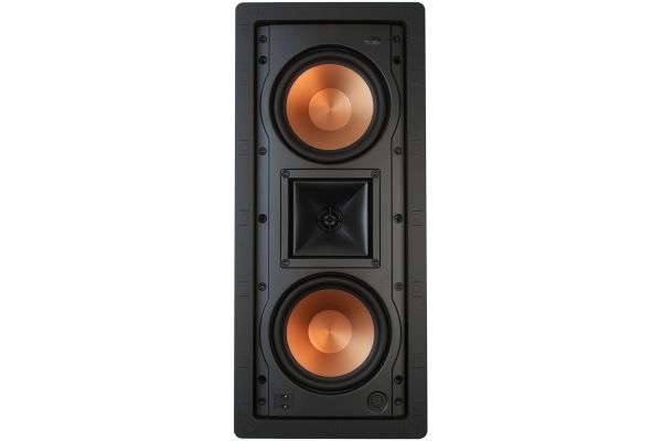 "Large image of Klipsch Dual 5.25"" Two-Way In-Wall White Loudspeaker (Each) - 1014132"