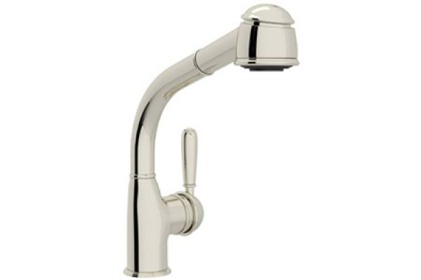 Rohl Pull-Out Spray Polished Nickel Bar Faucet - R7903SLMPN