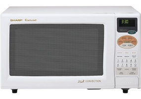 Sharp - R-820BW - Microwave Ovens & Over the Range Microwave Hoods