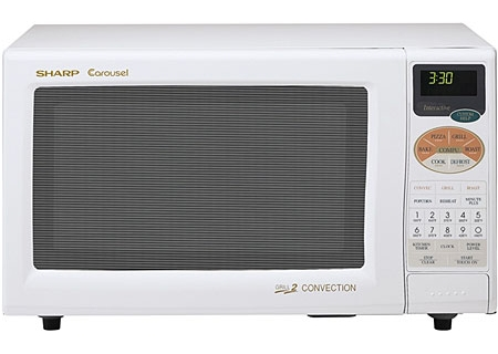Sharp - R-820BW - Countertop Microwaves