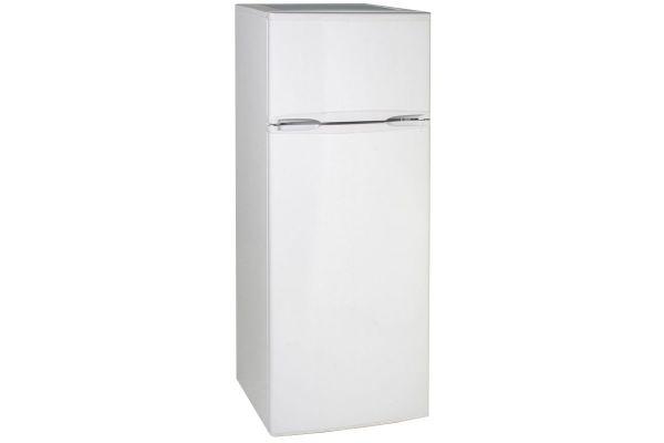 Large image of Avanti 7.4 Cu. Ft. White Two Door Apartment Size Refrigerator - RA7306WT