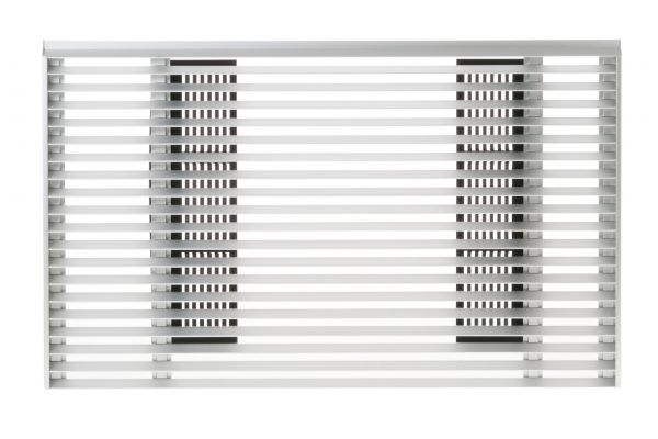 Large image of GE Architectural Louvered Exterior Grille For J Series - RAG14E