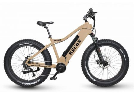 Recon Flat Dark Earth Ranger Power Electric Bike - RANGER
