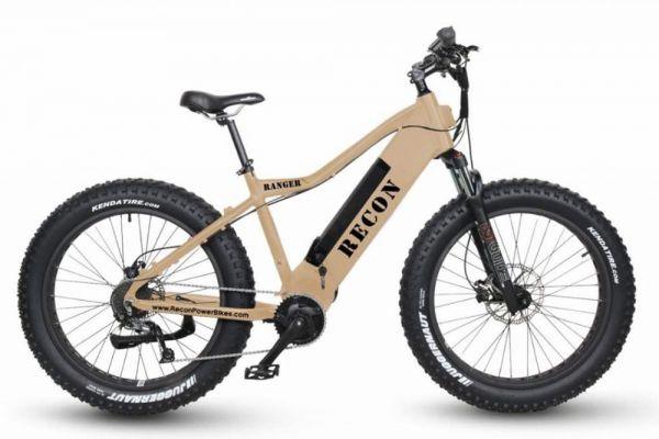 Recon Flat Dark Earth Ranger Power Electric Bike - RANGER