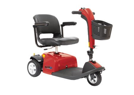 Rascal 9 Red 3 Wheel Mobility Scooter  - RASCAL9RED