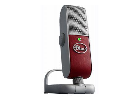 Blue Premium Mobile USB Microphone - RASPBERRY