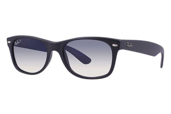 Large image of Ray-Ban Original Wayfarer Matte Black Unisex Sunglasses - RB2132601S7852