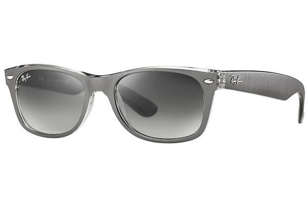 Ray-Ban Wayfarer Metal Effect Grey Gradient Sunglasses - RB2132614371