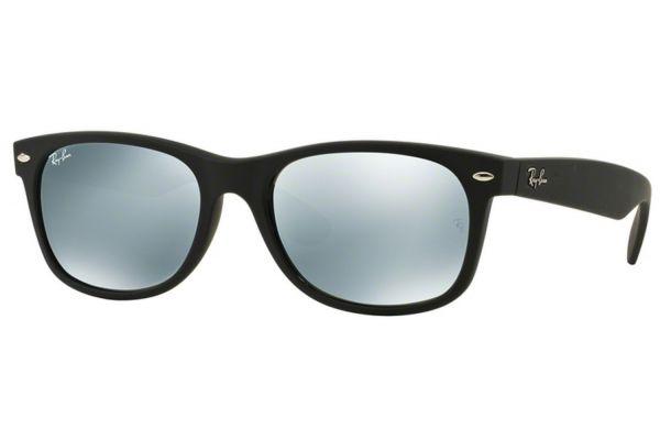Large image of Ray-Ban New Wayfarer Flash Black Unisex Sunglasses - RB213262230