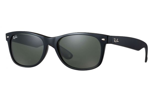 Ray-Ban New Wayfarer Classic Black Unisex Sunglasses - RB213290152