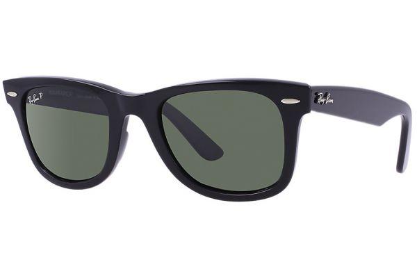 Ray-Ban Original Wayfarer Polarized Unisex Sunglasses - RB2140 901/58 54