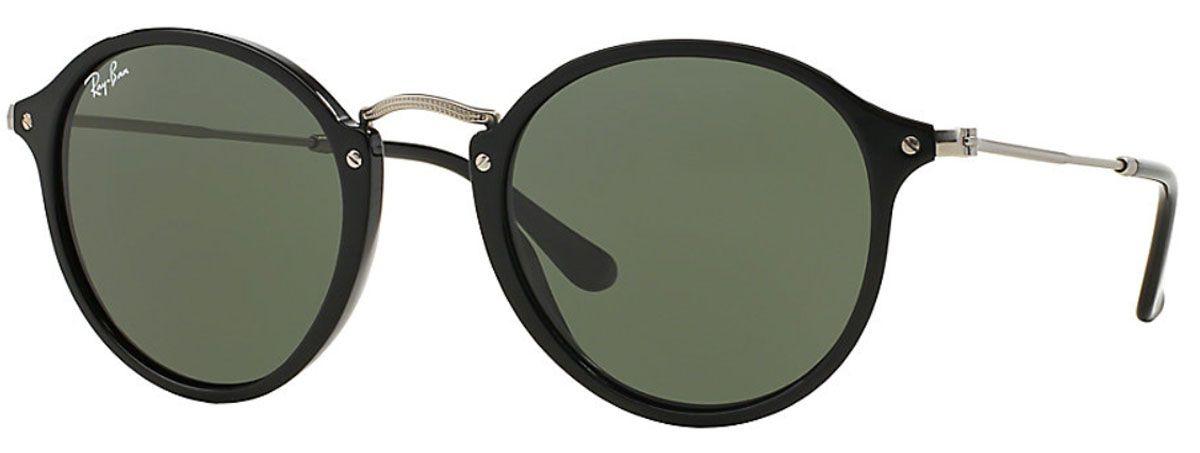 cdfaa71527 Ray-Ban Round Fleck Green Classic G-15 Unisex Sunglasses - RB2447 901 49
