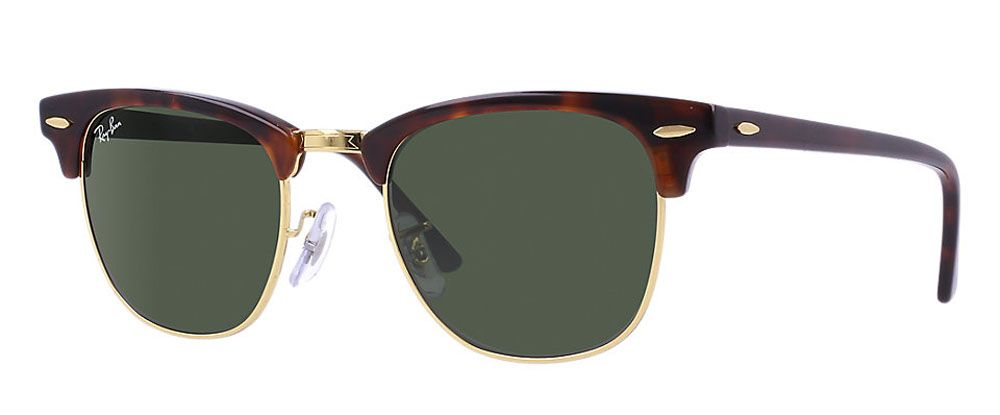 834a4680115 Ray-Ban Clubmaster Tortoise Sunglasses - RB3016W036651