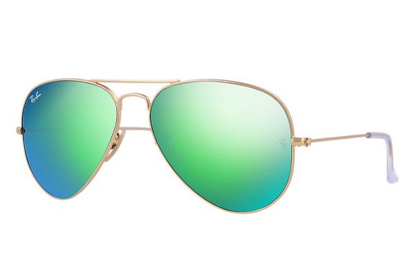 Ray-Ban Aviator Flash Lenses Unisex Sunglasses - RB30251121955