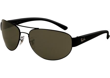 Ray-Ban - RB3448 002/58 63 - Sunglasses