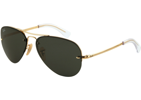 Ray-Ban - RB3449 001/71 59 - Sunglasses