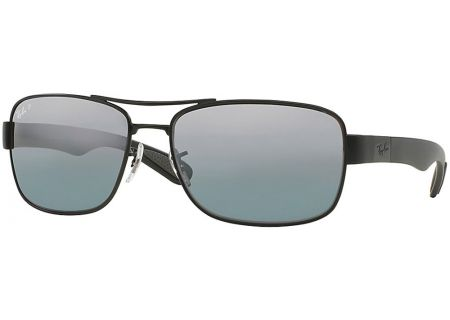 Ray-Ban RB3522 Polarized Silver Mirror Mens Sunglasses - RB3522006/82