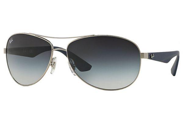 Ray-Ban RB3526 Grey Gradient Aviator Unisex Sunglasses - RB3526 019/8G 63