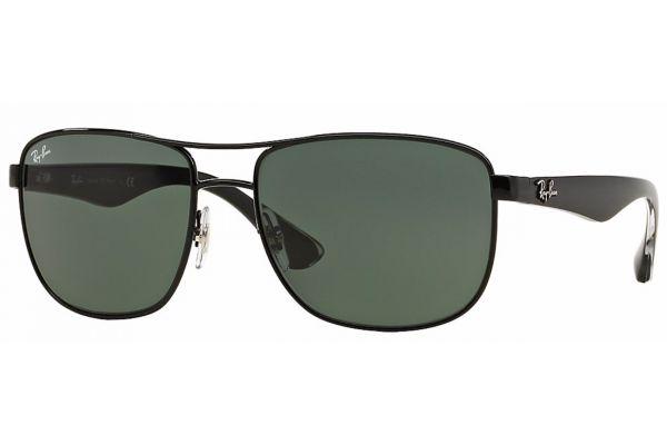 Ray-Ban Steel Man Green Gunmetal Mens Sunglasses - RB3533 002/71 57
