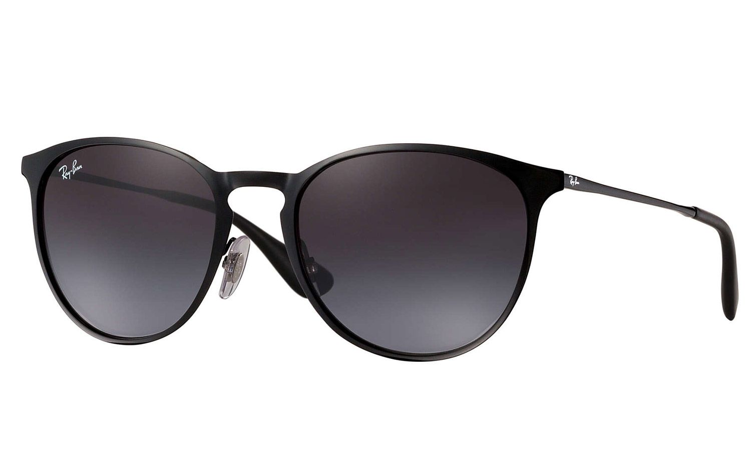 7c5999cf5b587 Ray-Ban Erika Metal Black And Grey Gradient Sunglasses - RB3539 002 8G 54-19