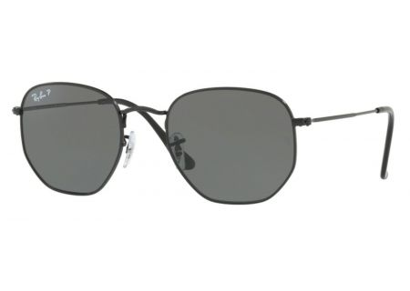 Ray-Ban Polarized Green Classic G-15 Hexagonal Flat Lenses Mens Sunglasses - 0RB3548N002/5854