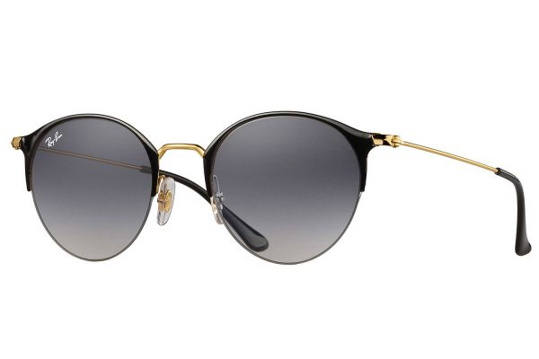 Large image of Ray-Ban Gold And Grey Gradient Sunglasses - RB3578 187/11 50-22