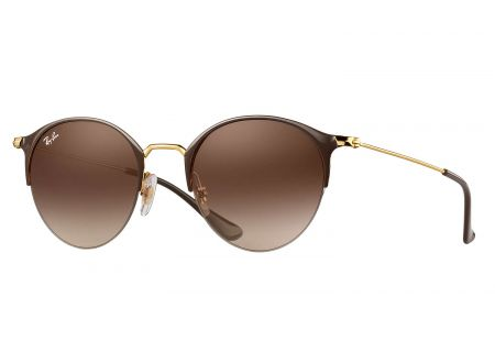 Ray-Ban Gold And Brown Gradient Sunglasses - RB3578 900913 50-22