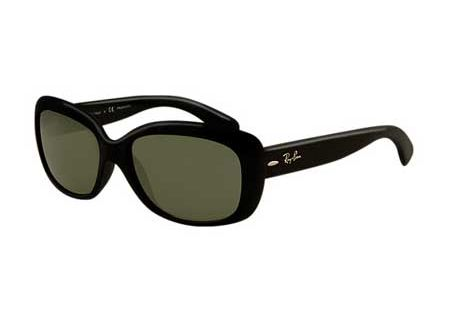 Ray-Ban Jackie Ohh Black Cat Eye Womens Sunglasses - RB41016015858