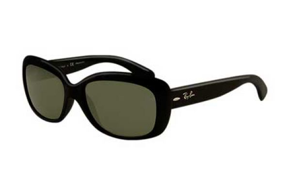 Ray-Ban Jackie Ohh Black Cat Eye Womens Sunglasses - RB41016015858