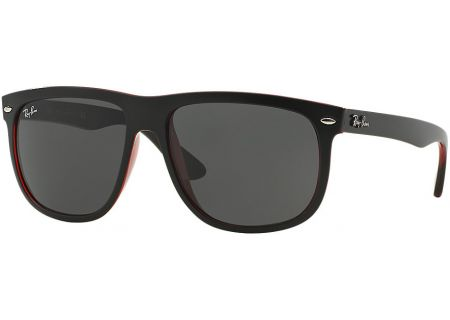 Ray-Ban RB4147 Black Square Unisex Sunglasses - RB4147 61787 56