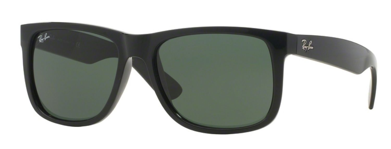 9c6445e1360 Ray-Ban Justin Classic Green Mens Sunglasses - RB4165 601 71 55-16