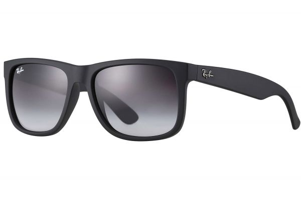 Ray-Ban Justin Classic Black And Polarized Grey Sunglasses - RB4165 622/T3 55-16