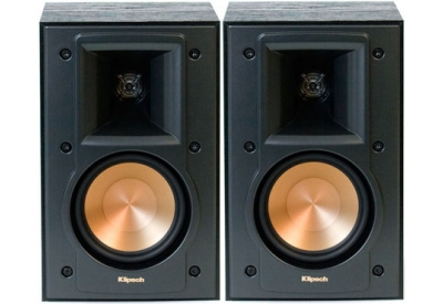 klipsch series black bookshelf speakers rb 41 ii abt. Black Bedroom Furniture Sets. Home Design Ideas