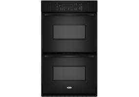 Whirlpool - RBD307PVB - Built-In Double Electric Ovens