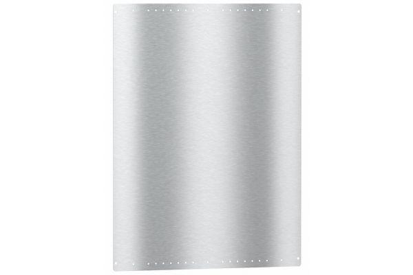 "Large image of Miele 30"" Stainless Steel Backsplash - 09908930"