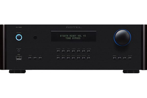 Large image of Rotel Black Stereo Preamplifier - RC1590BK