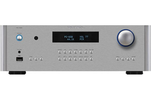 Large image of Rotel Silver Stereo Preamplifier - RC1590SIL