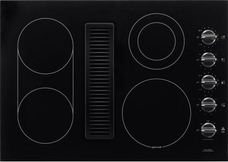 "Frigidaire 30"" Black Downdraft Electric Cooktop - RC30DE60PB"