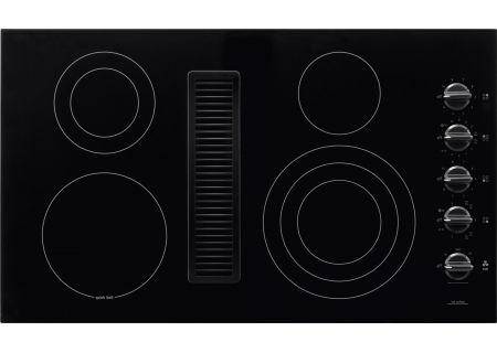 """Frigidaire 36"""" Black Downdraft Electric Cooktop - RC36DE60PB"""