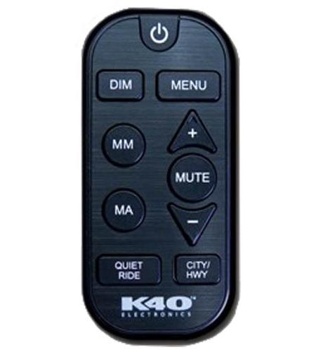 K40 RL360i/RL200i Black Remote Control With SM Button