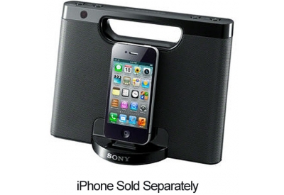 Sony - RDP-M7iPBLK - iPod Docks