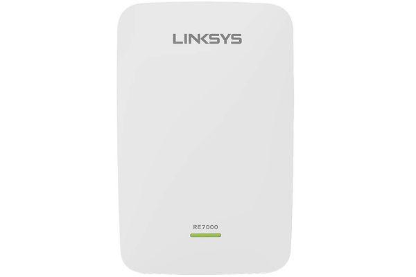 Large image of Linksys Max-Stream AC1900+ MU-MIMO Wi-Fi Range Extender - RE7000