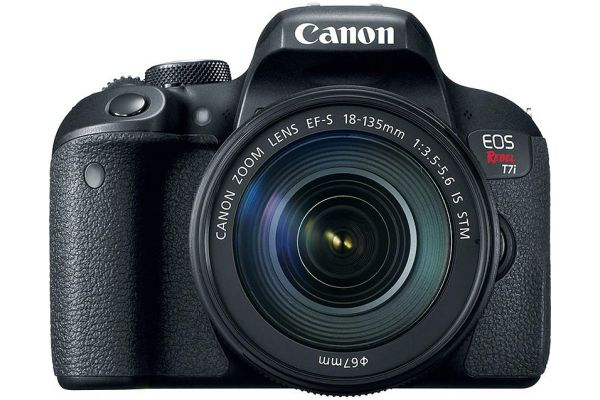 Large image of Canon EOS Rebel T7i DSLR Camera With 18-135mm Lens - 1894C003