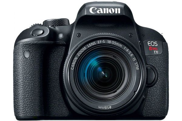 Canon EOS Rebel T7i DSLR Camera With 18-55mm Lens - 1894C002