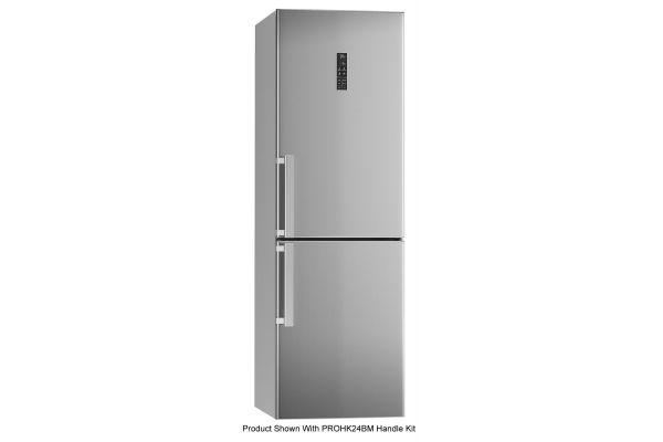 "Bertazzoni Professional Series 24"" Stainless Steel Freestanding Bottom Mount Refrigerator - REF24BMX"