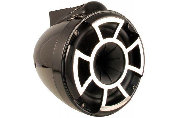 "Large image of Wet Sounds 10"" Revolution EFG X Mount Black Marine Tower Speaker - REV10B-X"